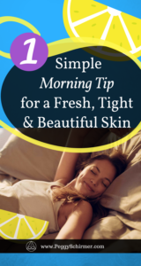 Beautifully fresh skin - morning ritual