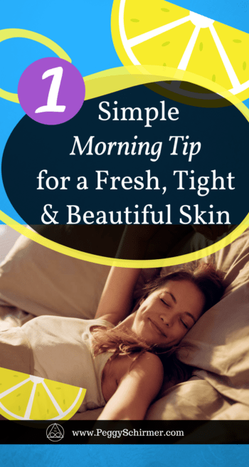 Beautifully fresh skin - morning ritual