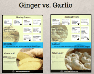 Ginger and garlic - mini overview