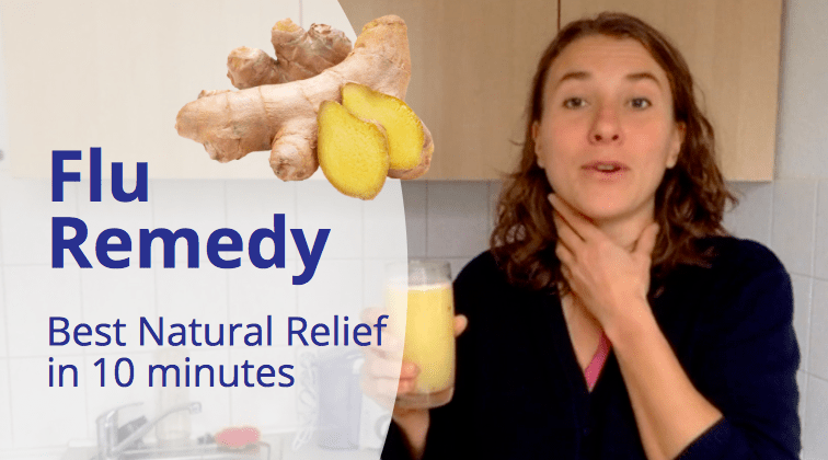 How to make your own FLU & COLD REMEDY - simple & quick help