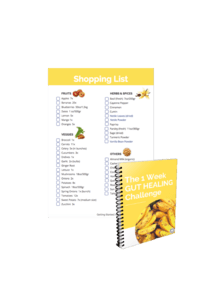 Preview Shopping List, Gut Healing Challenge
