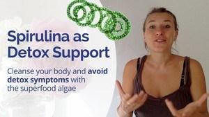 Hawaiian Bio Spirulina - The Best Detox Pills to Speed Up Healing & Reduce Detox Symptoms