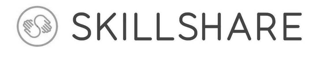 skillshare logo b&w