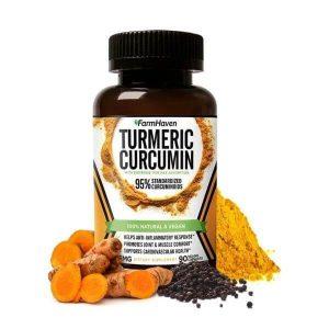 Turmeric Curcumin Caps w/ Black Pepper